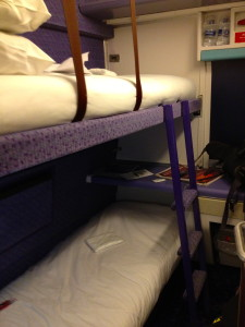 Caledonian Sleeper, Comp. 2 camas