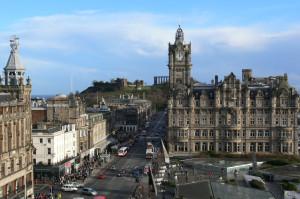Edifícios em Edimburgo