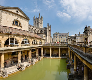 Banhos Romanos, Bath