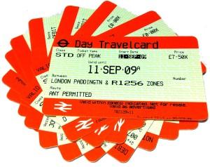 Passagens de Trem do UK