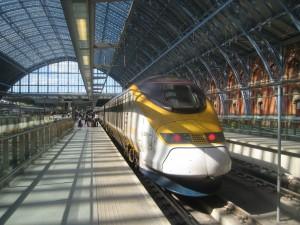 Eurostar, de Londres a Paris