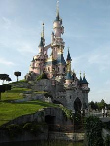 Castelo na Disneylândia Paris
