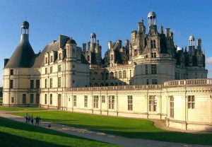 Chateau de Chambord, no Vale do Loire
