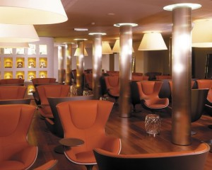 Eurostar Lounge (1ra classe) em Bruxelles Midi