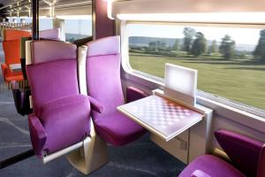 TGV Lyria, 2da classe