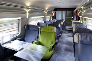 TGV França-Itália, assentos de 1ª classe