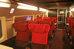 Thalys Paris-Amsterdam, 1ra classe