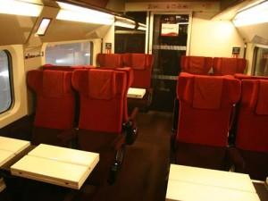 Thalys Paris-Bruxelas, 2da classe