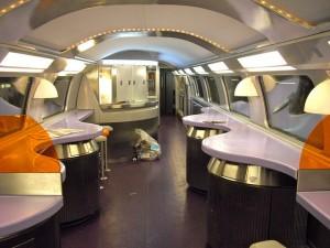 Vagão-bar de TGV Duplex