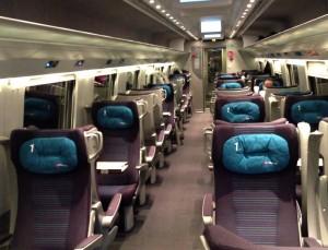 EuroCity Italia-Suíça, 1ra Classe
