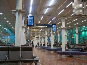 Eurostar terminal St Pancras London