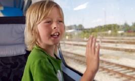 Viajar pela Europa de Trem com Crianças