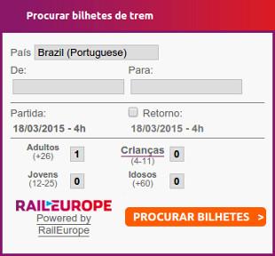 Rail Europe Form