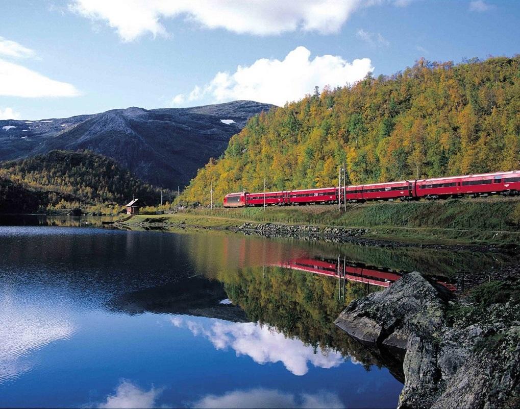 Como Comprar Passagens de Trem Baratos na Europa - Trem panorâmico Oslo-Bergen (Noruega)